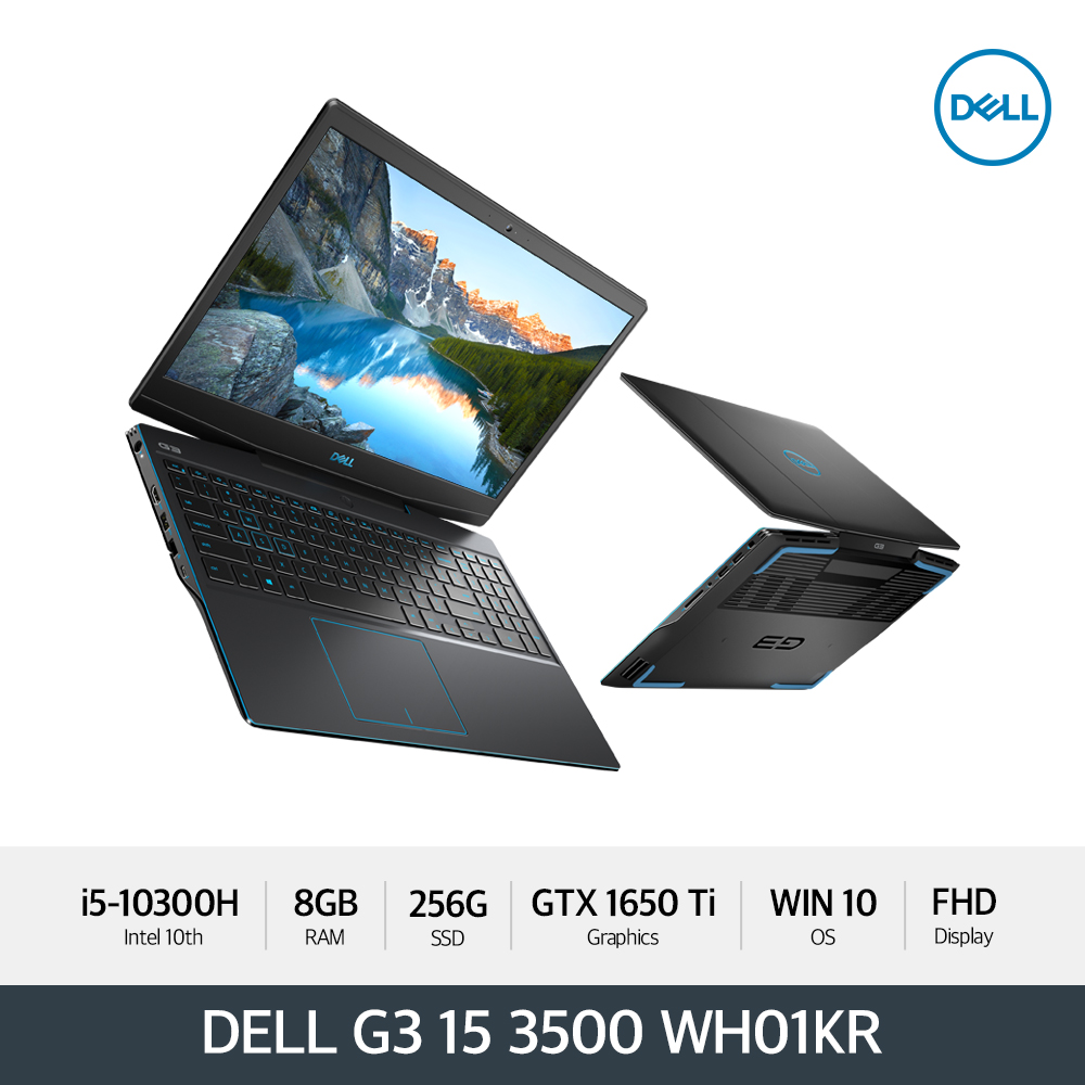 Dell G3 15 3500 DG3500-WH01KR Win10 Home (10세대i5-10300H/GTX1650Ti)